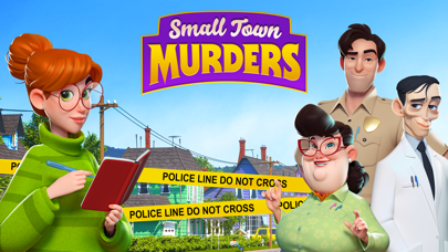Small Town Murders: Match 3 Screenshot
