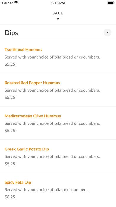 Mr. Gyros Greek FoodScreenshot of 4
