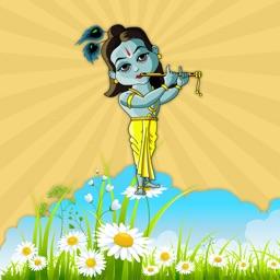 Animated Radha Krishna Sticker