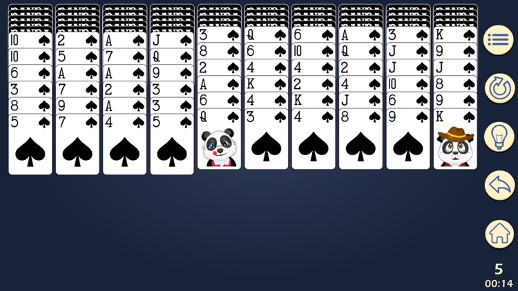 Panda Solitaire screenshot-0