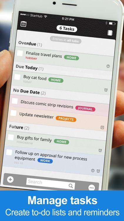 Daily Notes + Tasks