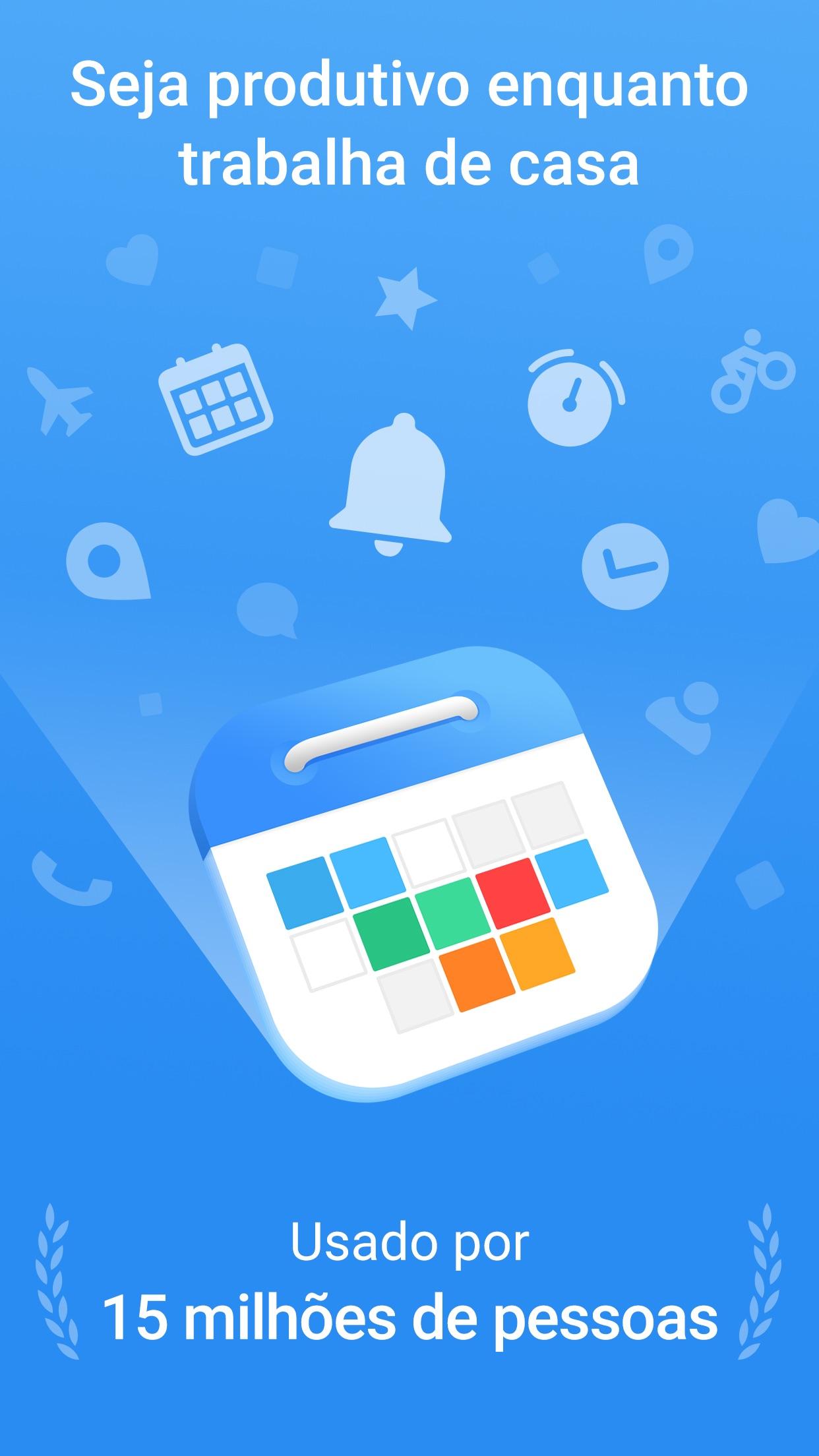 Screenshot do app Calendario: Agenda e Tarefas