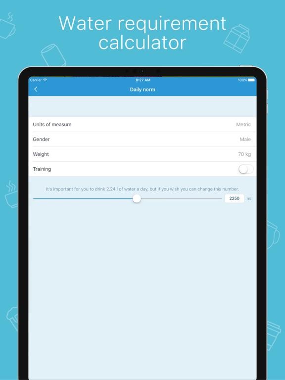 My Water: Daily Drink Tracker screenshot