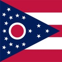 Ohio state – USA stickers