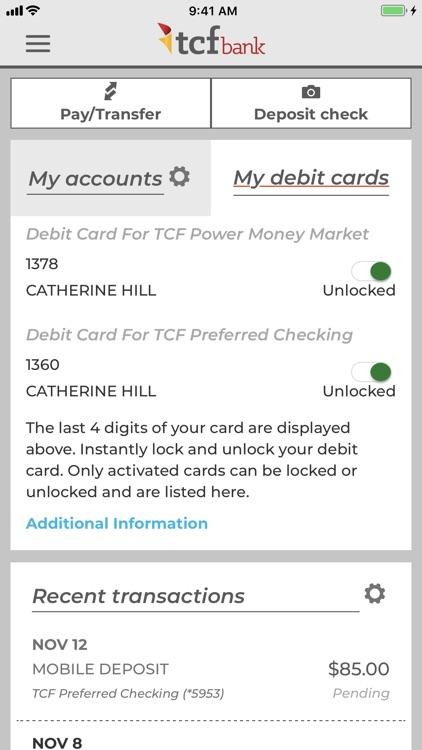TCF Bank screenshot-3
