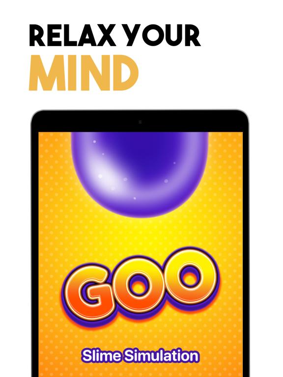 iPad Image of Goo: Slime simulator, ASMR