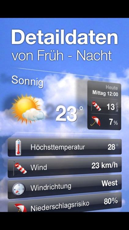 wetterheute.at Österreich screenshot-3