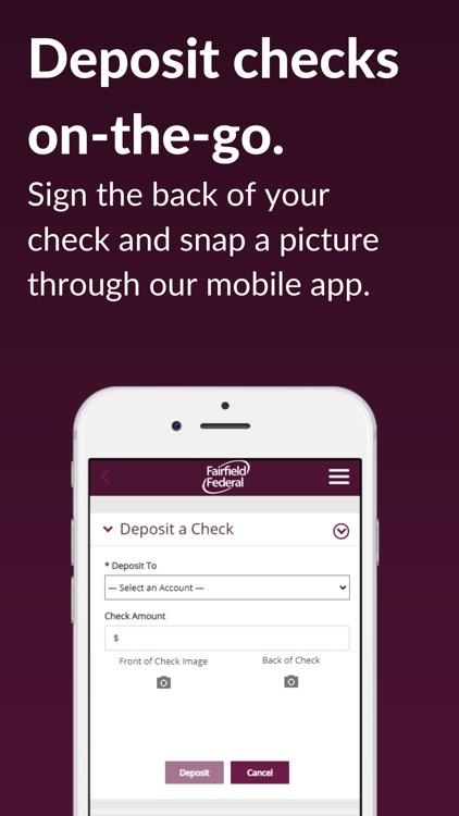 Fairfield Federal Mobile screenshot-3