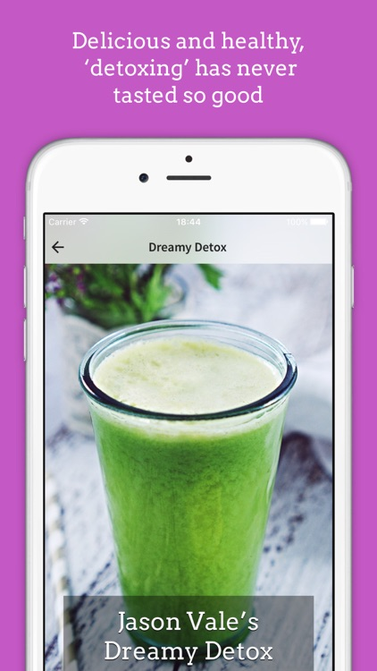 Jason's 3-Day Juice Challenge screenshot-3