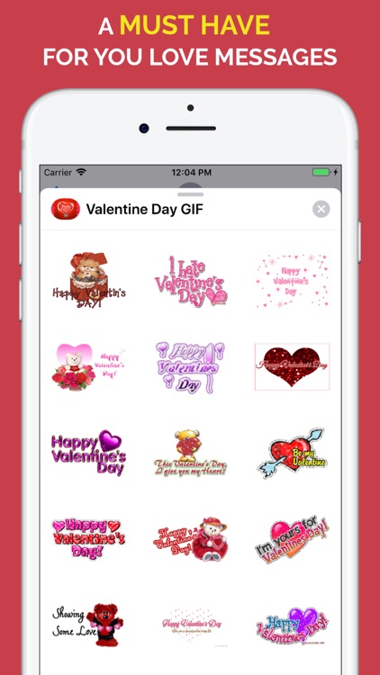 Happy Valentine's Day GIF screenshot-1