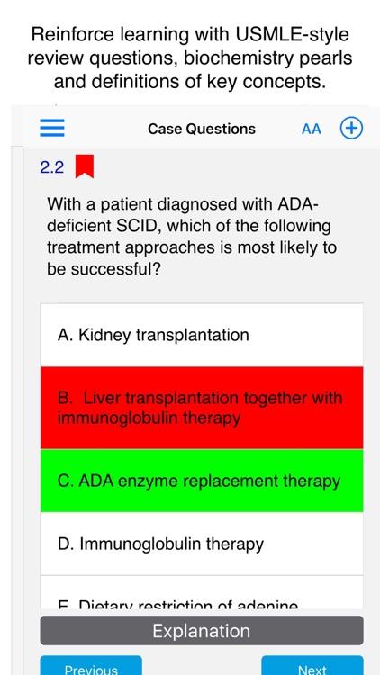 Case Files Biochemistry, 3e screenshot-3