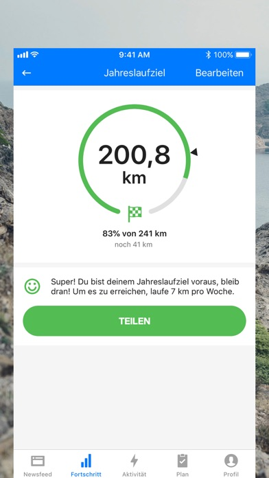 Screenshot for Runtastic Laufen und Joggen in Germany App Store