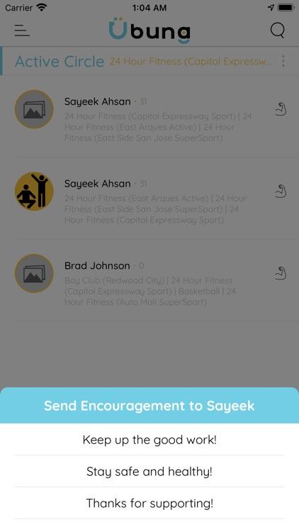 Ubung: Gyms & friends screenshot-6