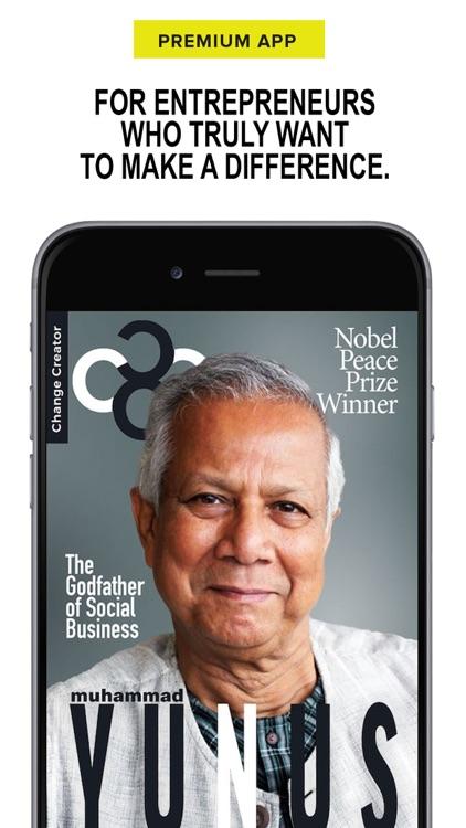 Change Creator Magazine screenshot-0