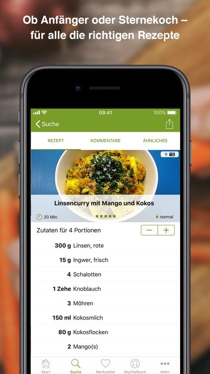 Chefkoch – Rezepte & Kochbuch screenshot-3