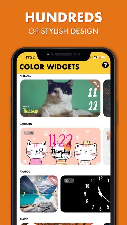 Color Widgets: Favorites Calls screenshot-4