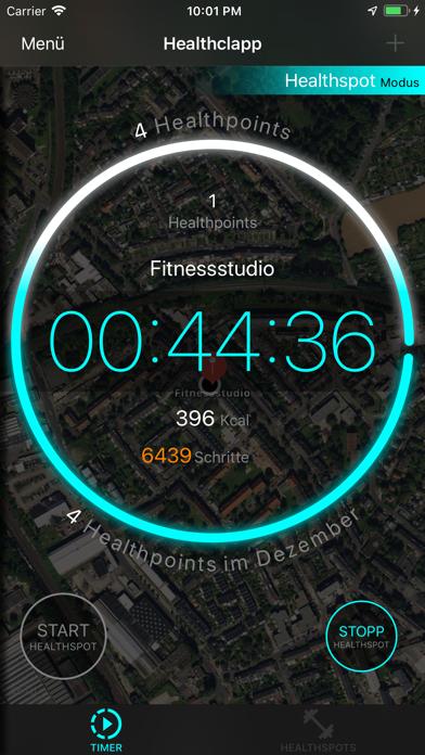 HealthclappScreenshot von 1