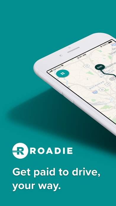 messages.download Roadie Driver software