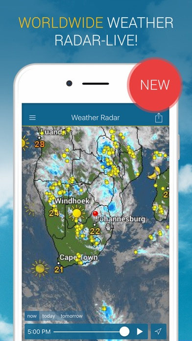 Weather Radar review screenshots