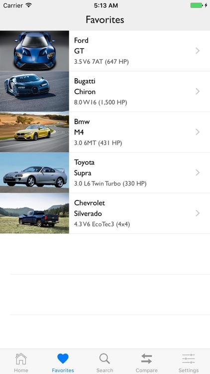 Car Specs Pro screenshot-7