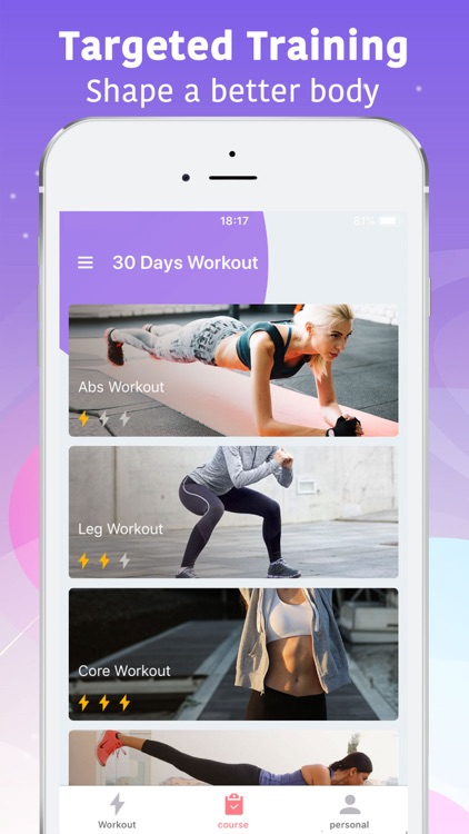 FitMe - Lose Weight in 30 days