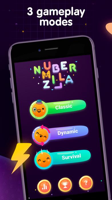 Numberzilla - Number Math Game på PC