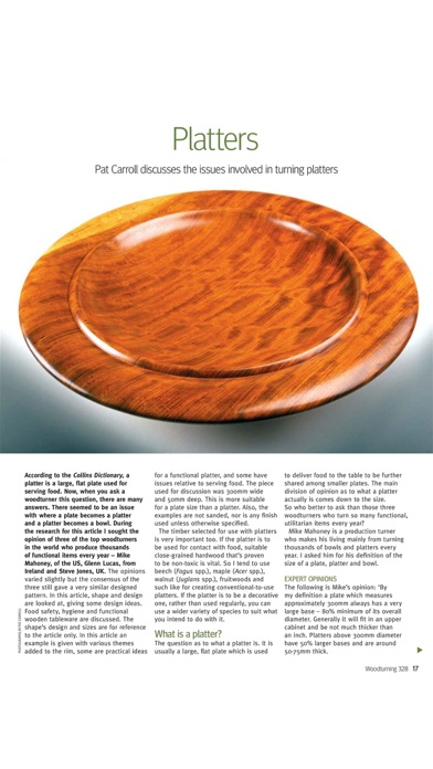 Screenshot for Woodturning Magazine in United States App Store