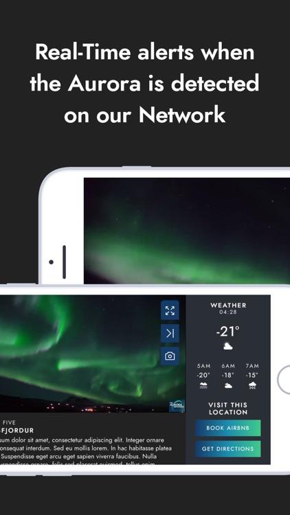 Northern lights Aurora Network