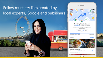 Screenshot for Google Maps - Transit & Food in United Kingdom App Store