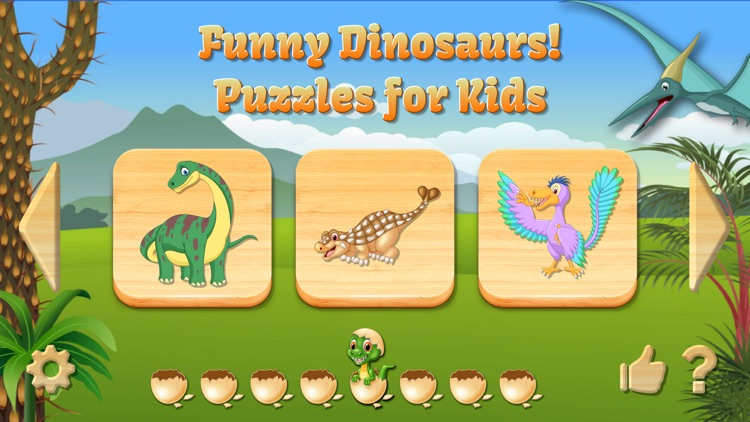 Dino Puzzle for Kids Full Game screenshot-0