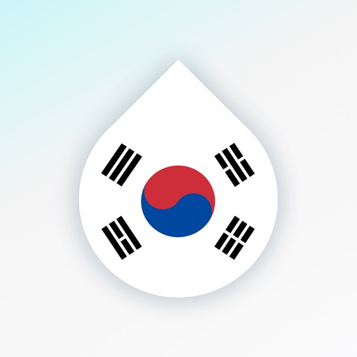 Learn Korean language by Drops
