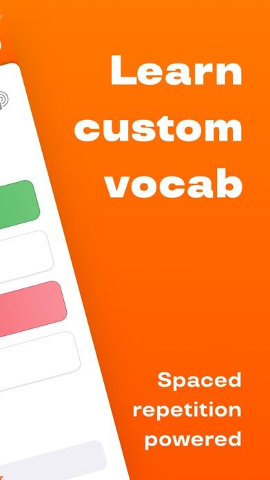Screenshot #8 for Reji – vocab builder app