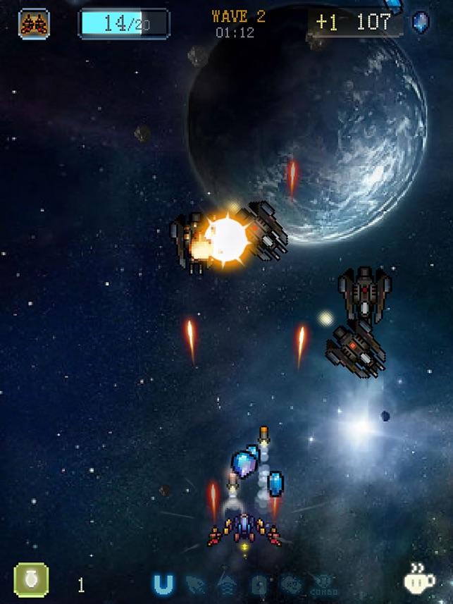Sky Master - pixel shooter Screenshot