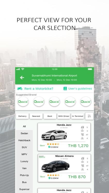 QUICK - Car & Motorbike Rental screenshot-3
