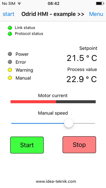 Odrid HMI screenshot-4