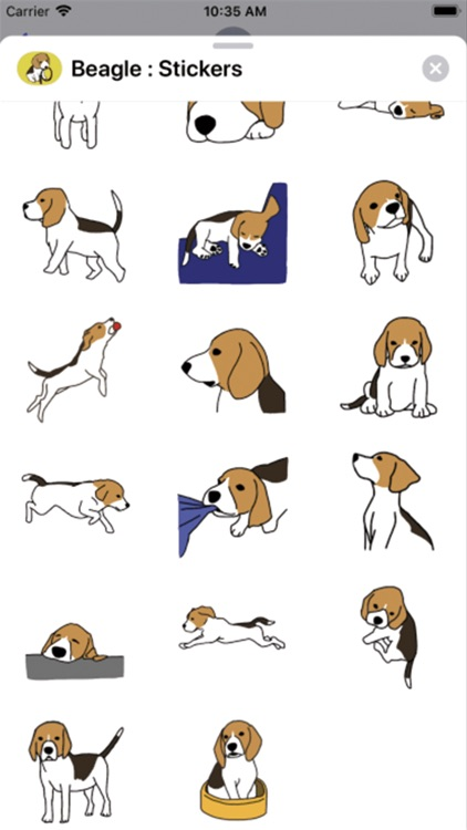 Beagle : Stickers screenshot-3
