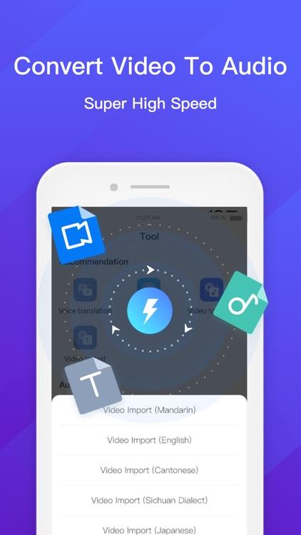 Audio to Text - Voice Recorder screenshot-4