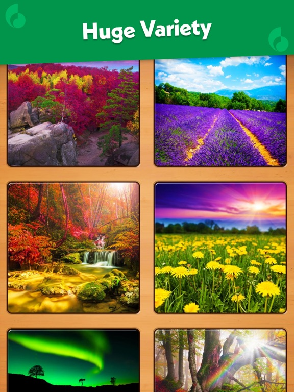 Screenshots for Jigsaw Puzzle for iOS