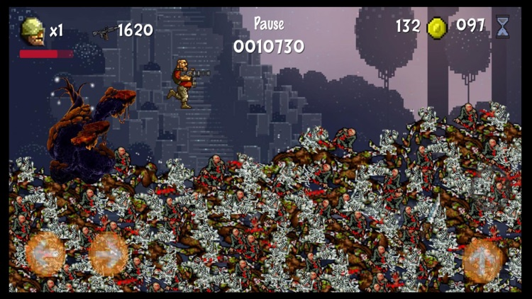 Pixel Soldiers zombie shooter