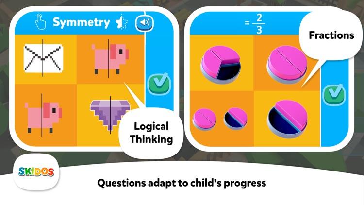 Kids Fun Math Games Cool Train screenshot-8
