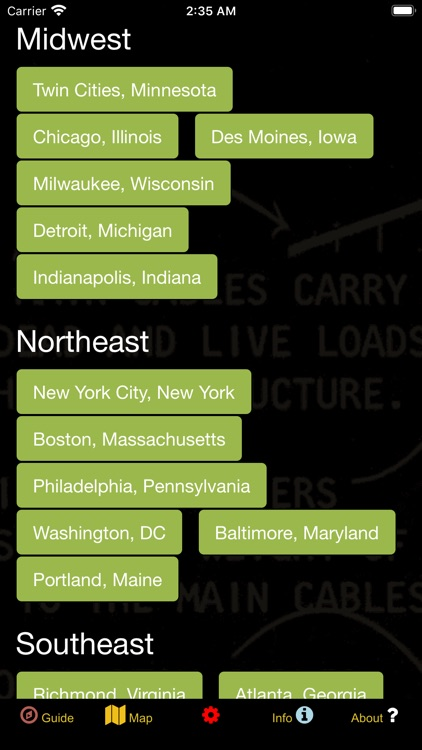US Historical Places Point Map screenshot-3