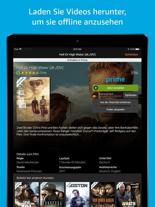 Amazon Prime Video Screenshot