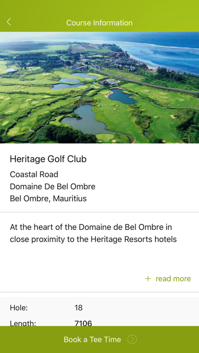 Heritage Golf Club, Mauritius screenshot two