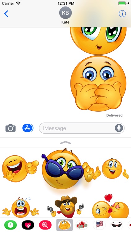 Funny Emoji Sticker Pack