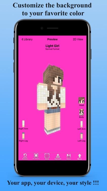 Skin Creator 3D for Minecraft screenshot-4