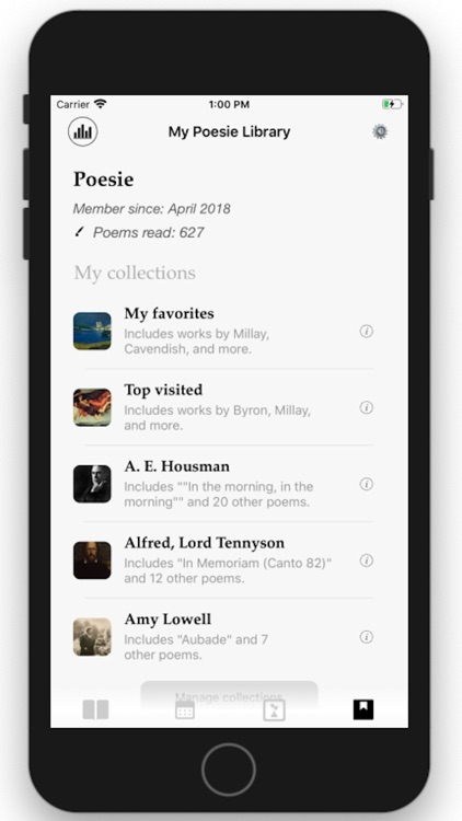 Poesie: The Daily Poetry App