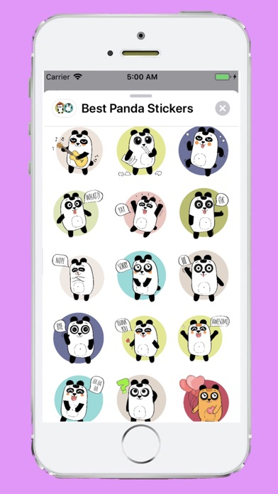 Best Panda Stickers app image