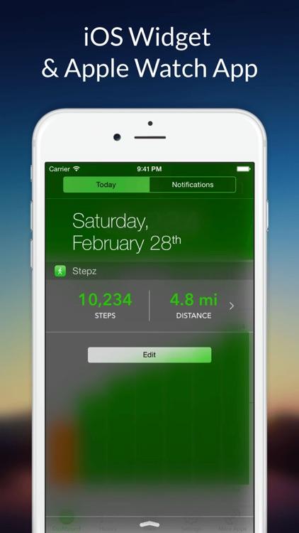 Stepz - Step Counter & Tracker screenshot-4