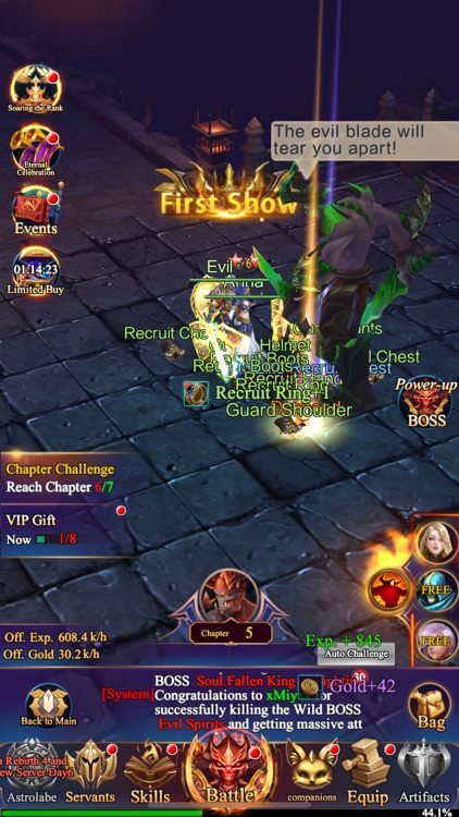Immortal Raid screenshot-4