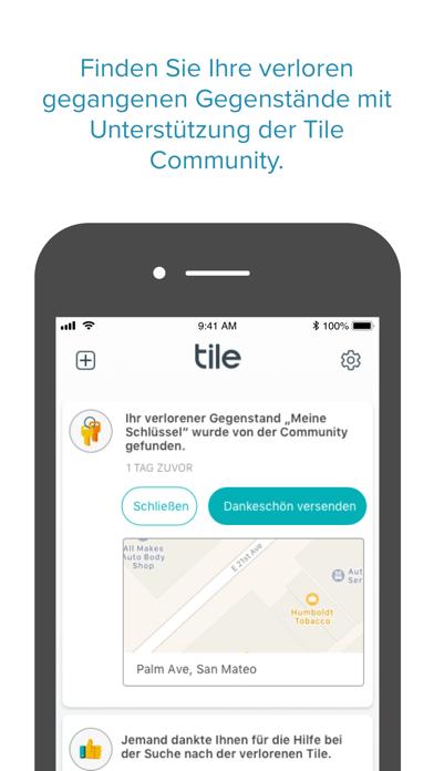 Tile - Find lost keys & phoneScreenshot von 8